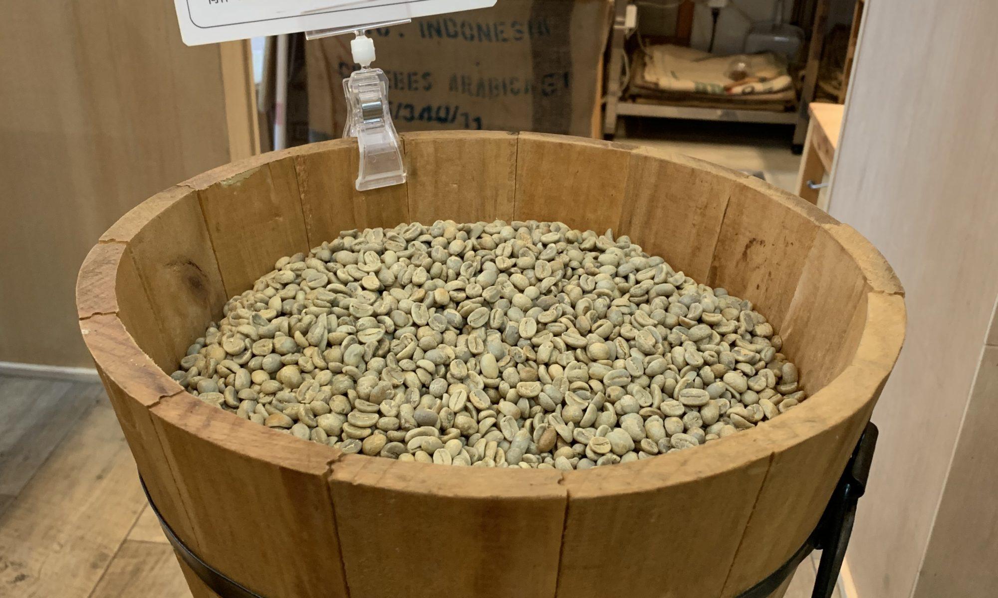 オアハカオーロラ農園生豆